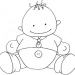 dibujos de bebes