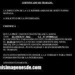 Imágenes de certificado de trabajo