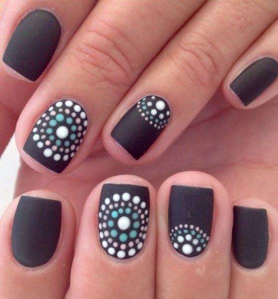 decoracion de uñas cortas