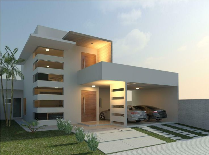 Im genes de fachadas de casas modernas im genes for Fachadas para residencias