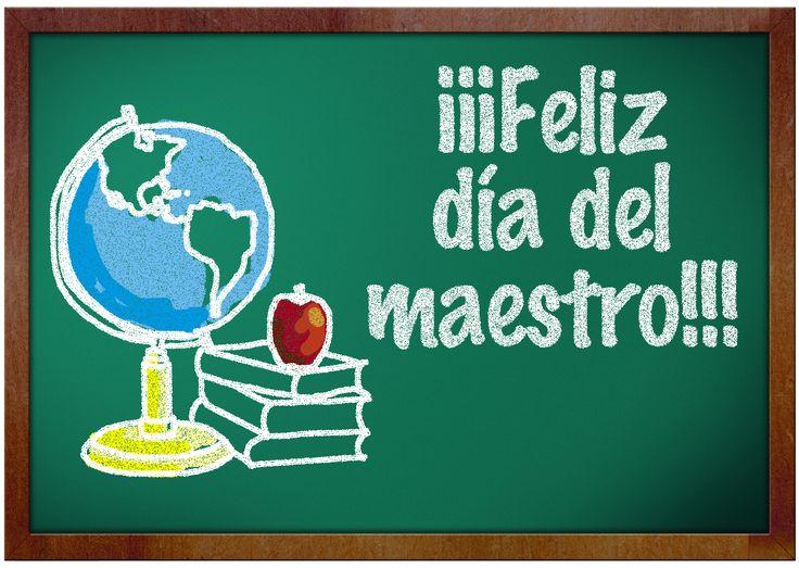 feliz dia del maestro