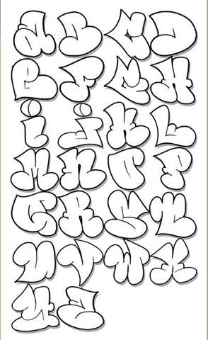 letras de graffitis