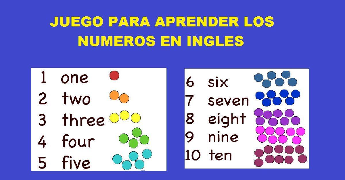 numeros en ingls aprender ingles image gallery numeros