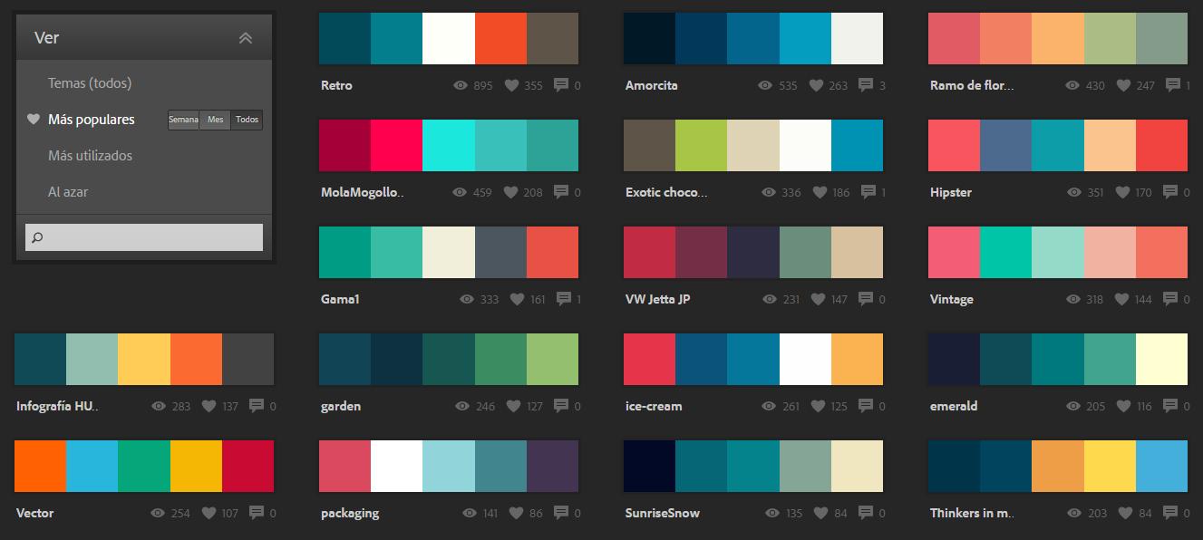 Im genes de paleta de colores im genes - Paletas de colores para interiores ...