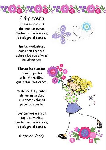 poemas para niños