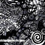 Imágenes de zentangle art
