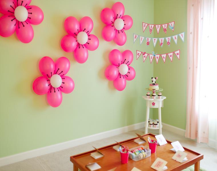 adornos con globos