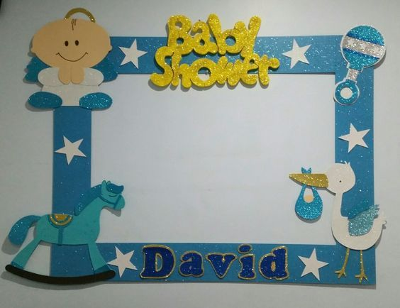 Im genes de adornos para baby shower im genes for Decoracion para pared de baby shower