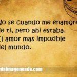 Imágenes de amor imposible