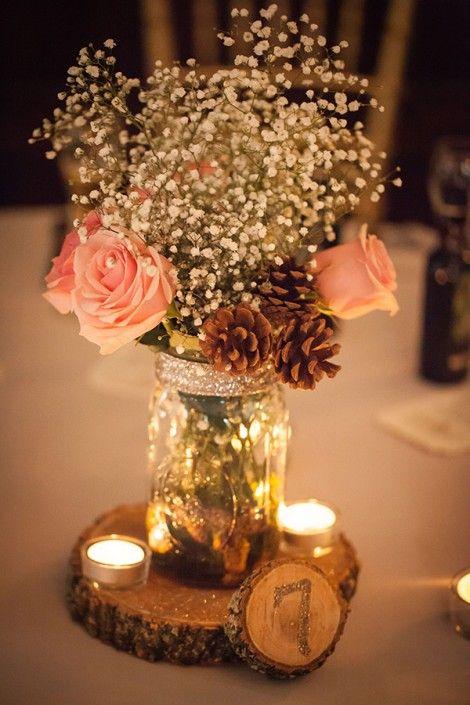 Imgenes de arreglos de mesa para boda Imgenes