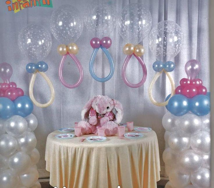 arreglos para baby shower