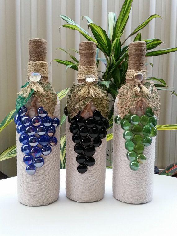 Im genes de botellas decoradas im genes - Lazos grandes para decorar ...