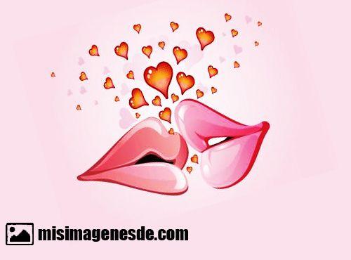 caricaturas de amor
