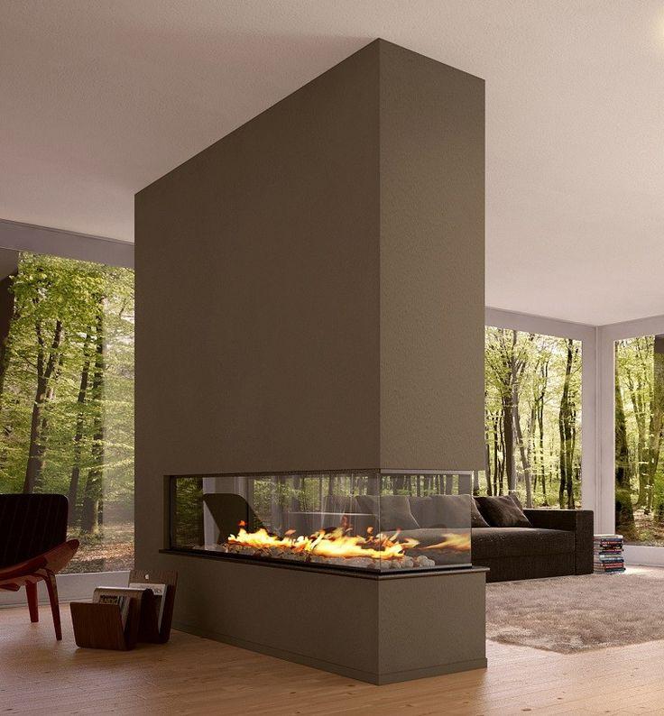 chimeneas modernas