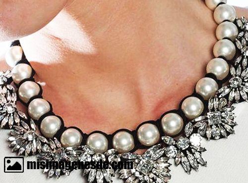 collares de perlas