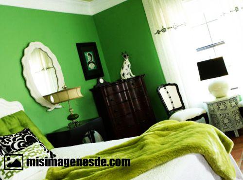 colores verdes