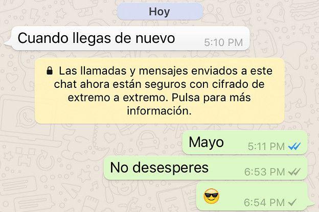 conversaciones de whatsapp