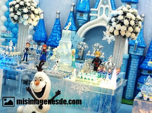 decoracion de frozen