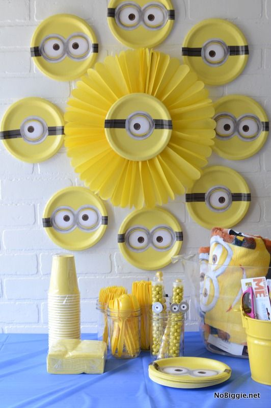 decoracion de minions