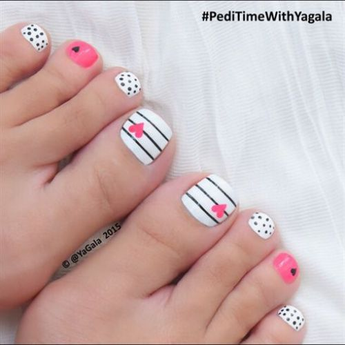 decoracion de uñas de los pies