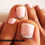 Imágenes de decoración de uñas de pies