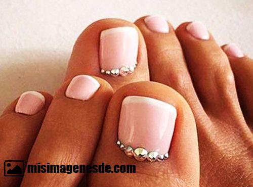decoracion de uñas de pies