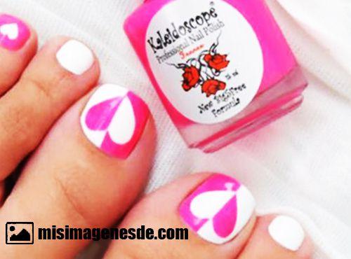 decoracion de uñas para pies
