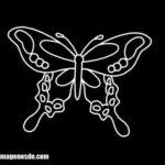 Imágenes de dibujos de mariposas