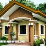 Imágenes de fachadas de casas pequeñas