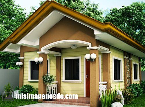fachadas de casas pequeñas