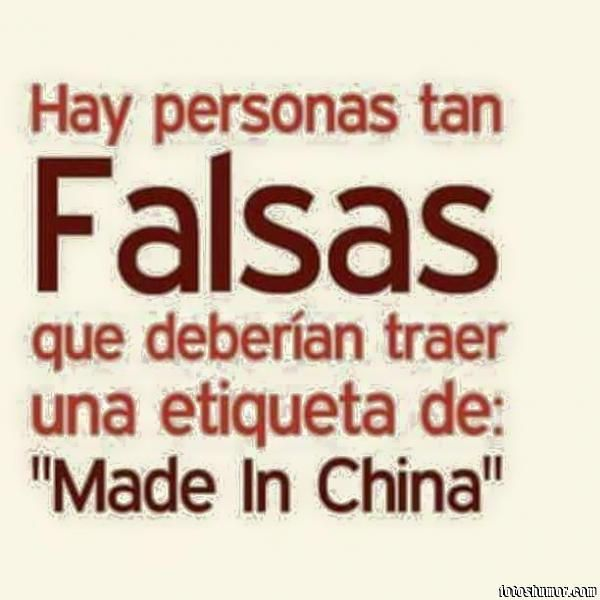 gente falsa