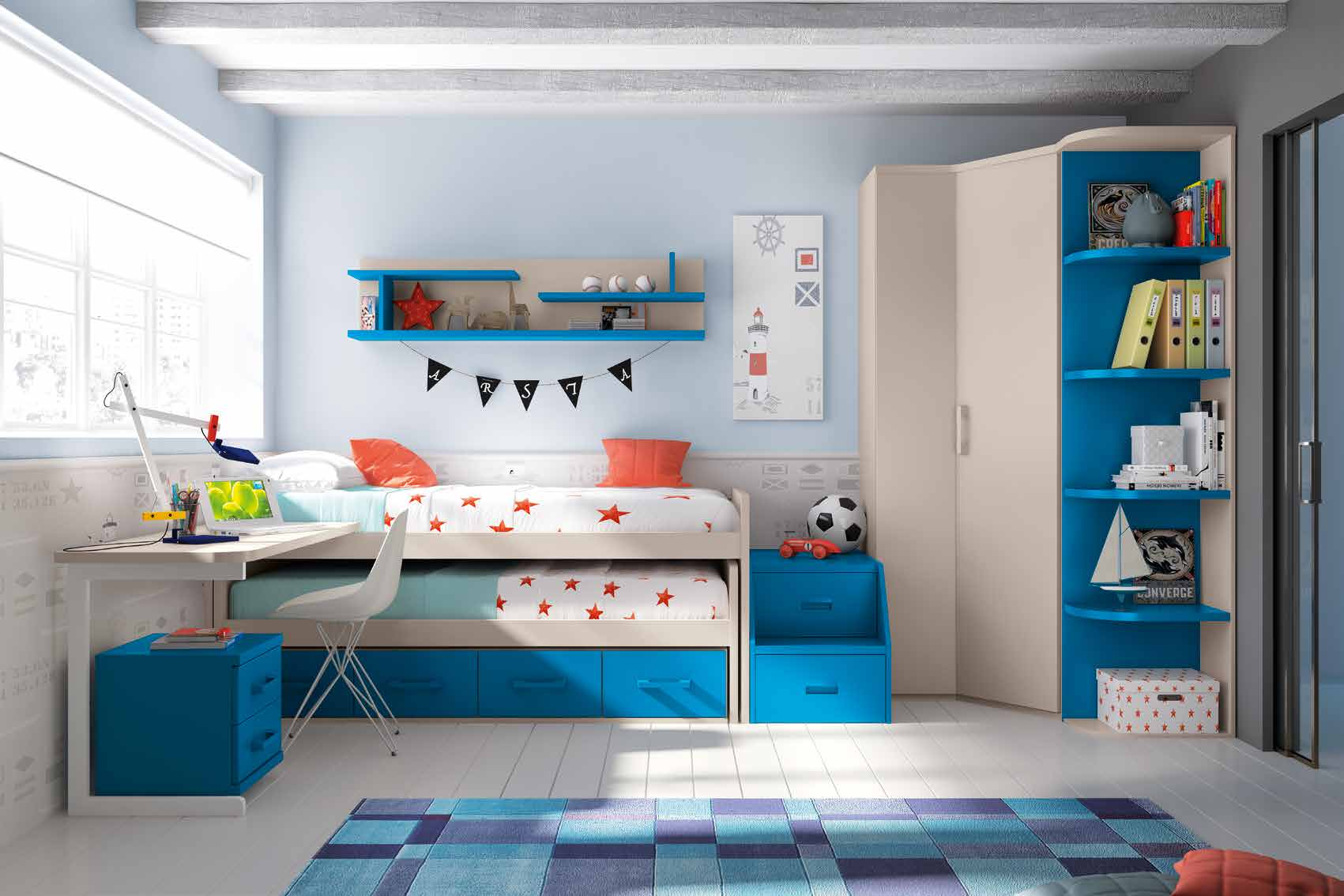Im genes de habitaciones infantiles im genes - Habitaciones infantiles decoracion paredes ...