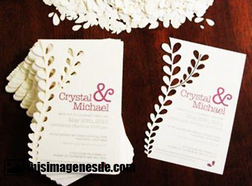 invitaciones para boda