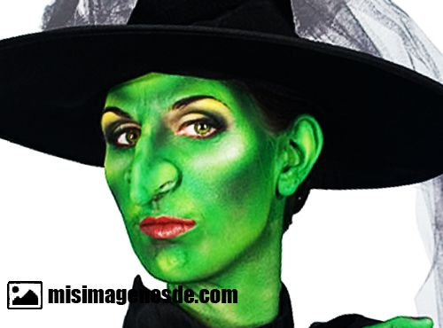 maquillaje de bruja