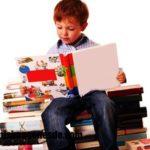 Imágenes de niños leyendo