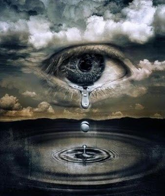 ojos llorando