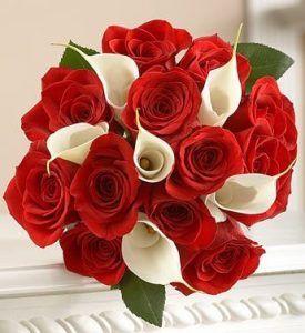 ramos de rosas rojas