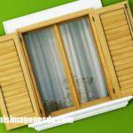 Imágenes de ventanas de madera