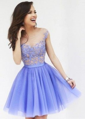 vestidos de noche cortos