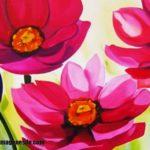 Imágenes de cuadros de flores