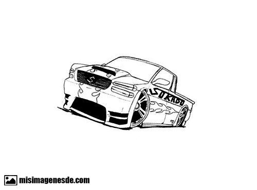dibujos de autos
