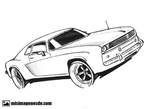 Dibujo De Autos Tuning Para Colorear En Tu Tiempo Libre Dibujos 5: Dibujos De Autos Fciles Im 225 Genes De Dibujos De Carros