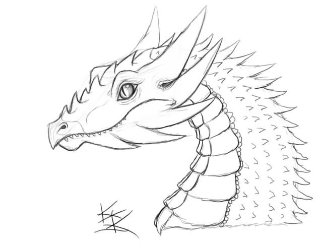 Imgenes de dibujos de dragones  Imgenes