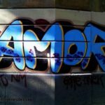 Imágenes de graffitis de amor