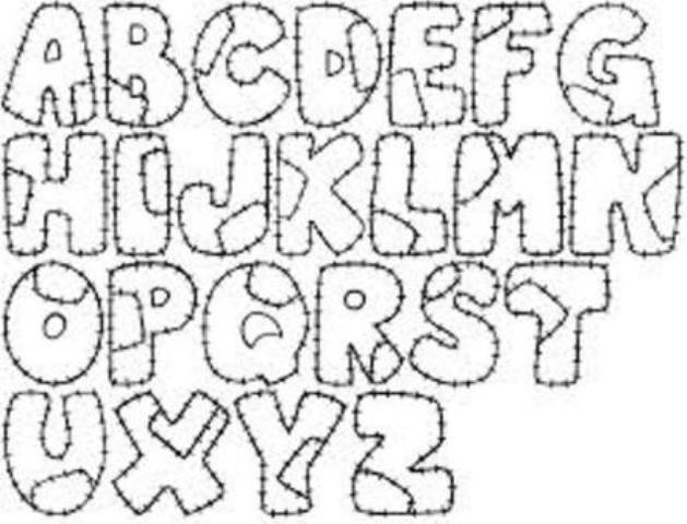 letras del abecedario