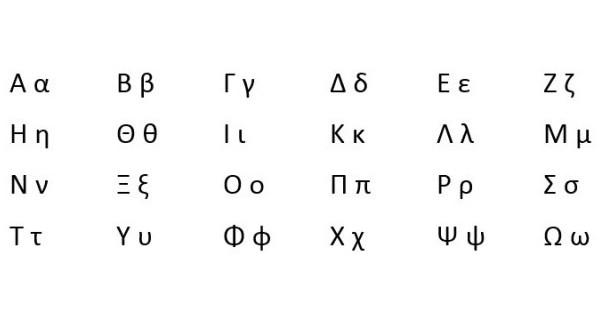 Imágenes de letras griegas | Imágenes