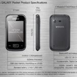 Imágenes de Samsung Galaxy Pocket