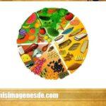 Imágenes del plato del buen comer para imprimir