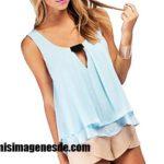 Imágenes de blusas para damas