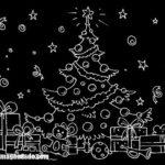 Imágenes de dibujos para colorear de navidad